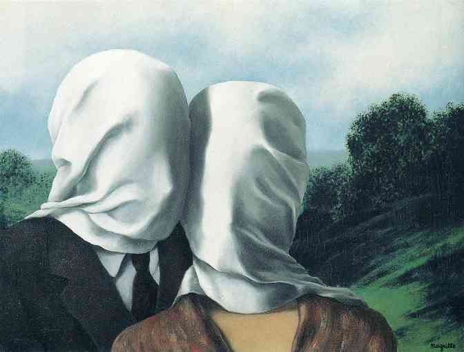 The Lovers, Rene Magritte